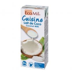 Kokosová alternativa smetany 200ml BIO   ECOMIL