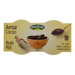 Dezert rýžový s čokoládou 2x125 g BIO