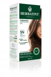 HERBATINT permanentní barva na vlasy světlý kaštan 5N