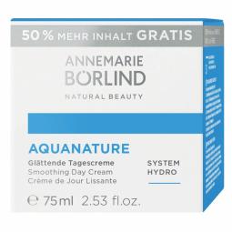 Aquanature Vyhlazující Hydratační denní krém 50ml + 50% Zdarma