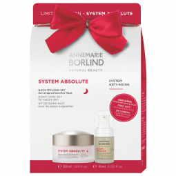 Xmas SYSTEM ABSOLUTE pack Noční krém 50ml + Sérum 15ml GRÁTIS