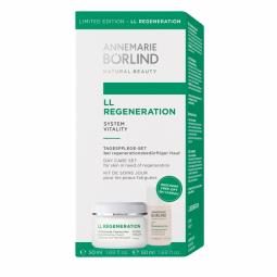 LL Regeneration  System Vitality Regenerační denní krém 50ml + LL Čistíci mléko 50ml GRÁTIS