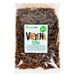 Těstoviny vřetena žitná 400 g BIO