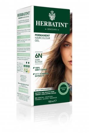 HERBATINT permanentní barva na vlasy tmavá blond 6N
