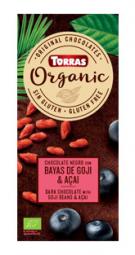 Torras Organická horká - goji a acai 100g