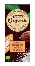Torras Organic hořká - 70% mořská sůl 100g