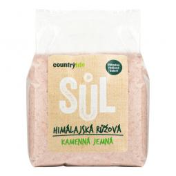 Sůl himalájská růžová jemná 1 kg COUNTRY LIFE