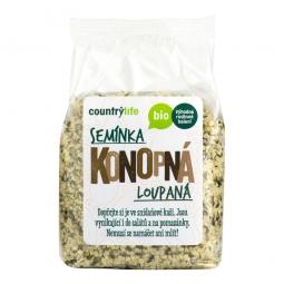 Konopná semínka loupané 250 g BIO COUNTRY LIFE