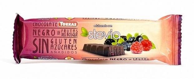 Tyčinka hořká čokoláda s lesním ovocem 35 g