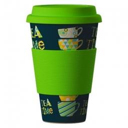 Eco Bamboo Cup - Tea Tima Green zelený