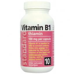 AKCE SPOTŘEBA: 11/2019 - Vitamin B1 100 mg 100 tobolek