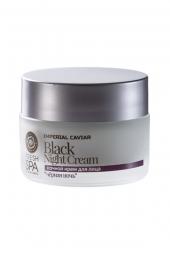 Černý omlazující pleťový noční krém na obličej Imperial Caviar