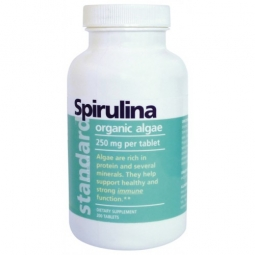 Spirulina organic 250 mg, 200 tablet