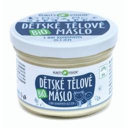 Dětské tělové máslo BIO 200 ml