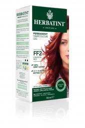 HERBATINT permanentní barva na vlasy karmínová červená FF2
