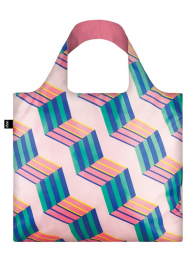 Nákupná taška LOQI Geometric Cubes New