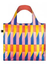 Nákupná taška LOQI Geometric Stripes New