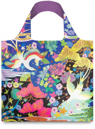 Nákupní taška LOQI Shinpei Naito Dancing Birds