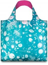 Nákupní taška LOQI Seed Teal