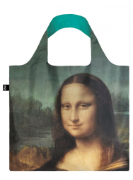 Nákupní taška LOQI Museum, Da Vinci - Mona Lisa