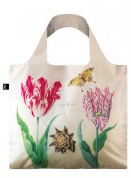 Nákupní taška LOQI Museum, Marrel - Two Tulips with Irma Boom