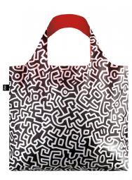 Nákupní taška LOQI Museum, Haring - Untitled