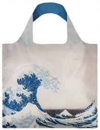 Nákupní taška LOQI Museum, Hokusai - The Great Wave