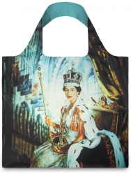 Nákupní taška LOQI Museum, Beaton - Queen Elizabeth II