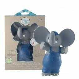 Pískátko / kousátko (100% přírodní kaučuk) - sloník Alvin