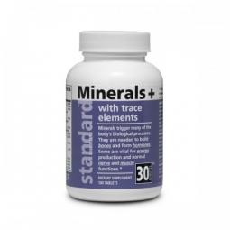 Minerály a stopové prvky, 100 tablet