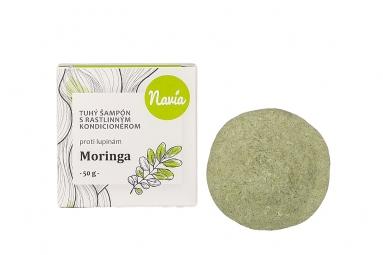 Tuhý šampon s Kondicionérem - Moringa XXL (proti LUPŮM)