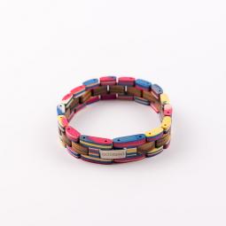 Náramek na ruku - Double Rainbow s krabičkou