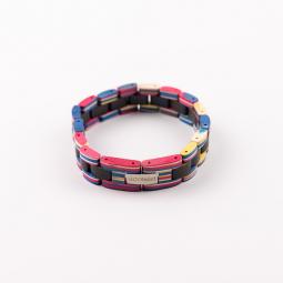 Náramek na ruku - Ebony Rainbow