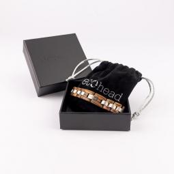 Náramek na ruku - Zebrawood s krabičkou