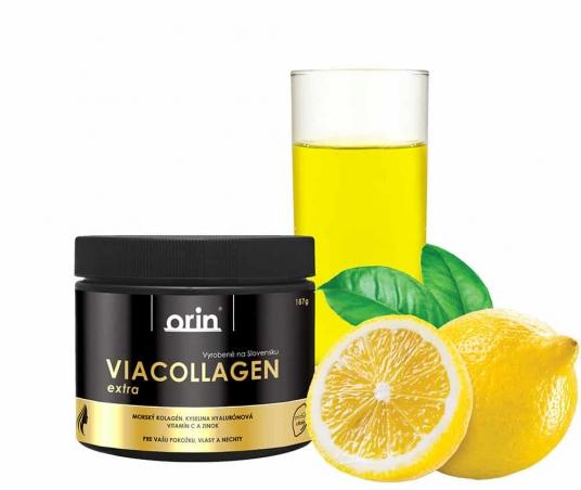 ViaCollagen extra s vitamínem C - CITRÓN 187g