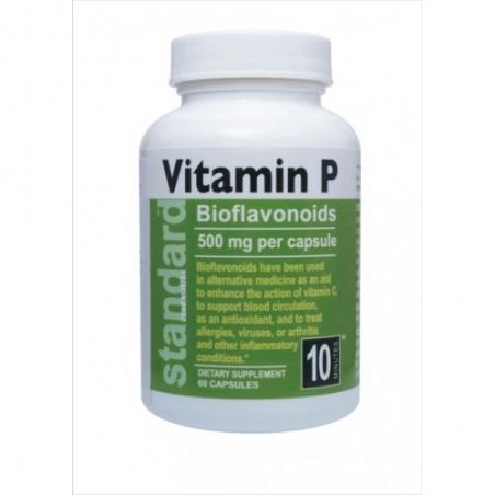 Vitamín P 500mg, 60 kapslí