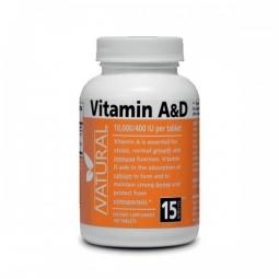 Vitamin A & D, 10 000/400 IU, 100 tablet