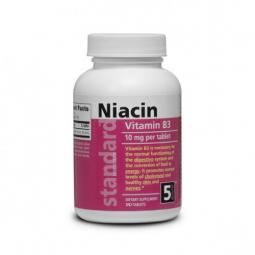 Vitamín B3 Niacin 10 mg, 180 tablet