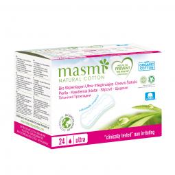 Vložky slipové ultratenké z organické bavlny 24ks MASMA