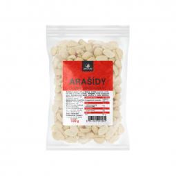 Arašídy pražené nesolené loupané 100 g