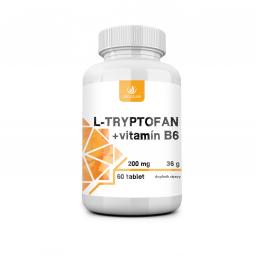 L-tryptofan 60tbl 200mg / 2,5mg vit B6