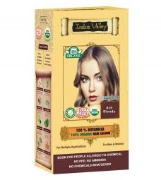 100% Rostlinná, 100% Organická barva na vlasy Popelavá Blond