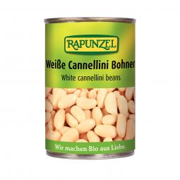 Bílé fazole sterilizované BIO 400 g Rapunzel *