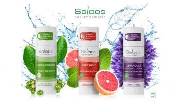 Saloos novinka: Sametově hebké Bio deodoranty bez SODY