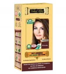 100% Rostlinná, 100% Organická barva na vlasy Blond