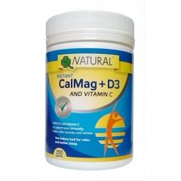 CalMag + C + D3 práškový, 150 gramů