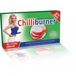 Chilliburner-podpora hubnutí 60 tbl.- 45 + 15 dní ZDARMA!