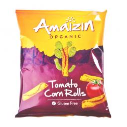 Chipsy kukuričné paradajkové 100 g BIO AMAIZIN