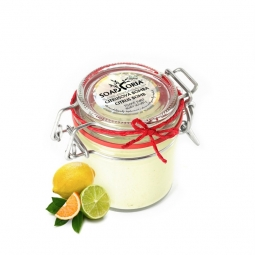Citrusová bomba - XXL organické tělové suflé