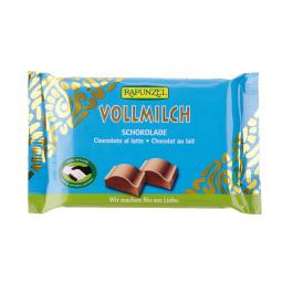 Čokoláda mléčná BIO 100 g Rapunzel*
